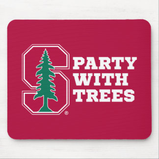 Party With Trees Mouse Pad