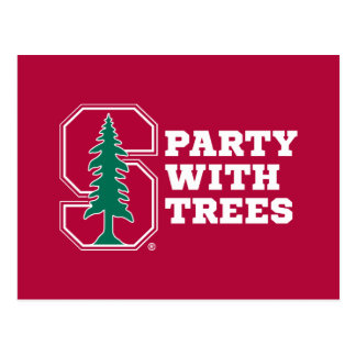 Party With Trees Postcard