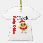 Party XMas Chick Christmas Tree Ornaments