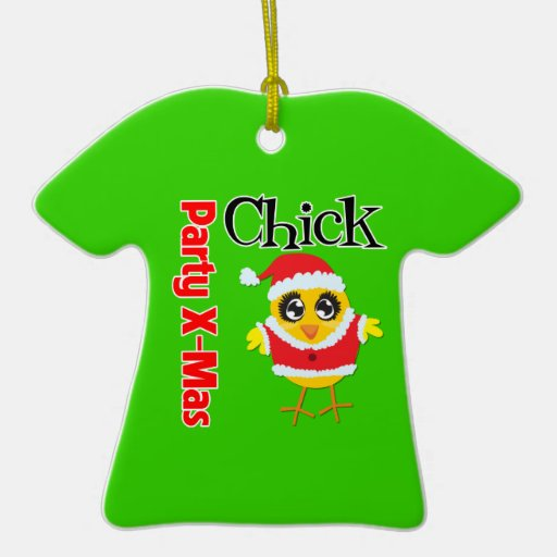 Party XMas Chick Ornament
