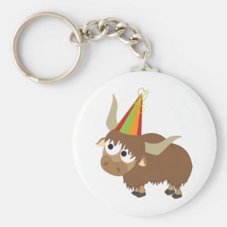 Party Yak Keychains