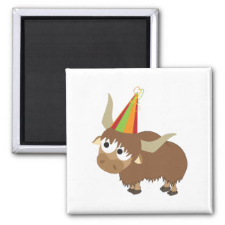 Party Yak Magnet