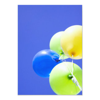 """Partybaloons """"invite"""" card"""