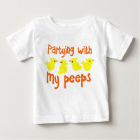 Partying with my Peeps Kids Shirt