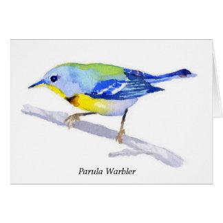 Parula Warbler Cards