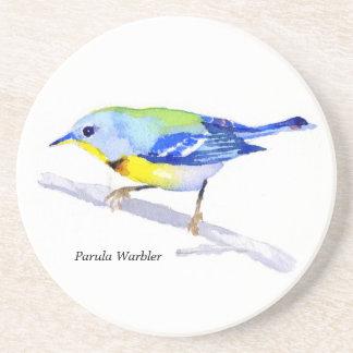 Parula Warbler coaster