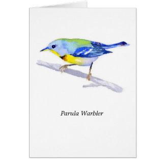 Parula Warbler Stationery Note Card