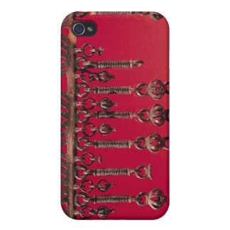 Parure with bell pendants iPhone 4/4S case