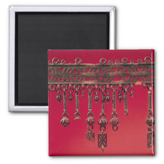 Parure with bell pendants refrigerator magnets
