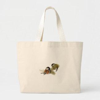 Parus Rufescens Tote Bag