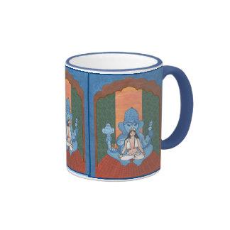Parvati and Ganesha Coffee Mug