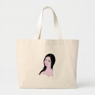 Parvati la diosa hermosa bolsas lienzo