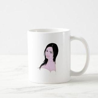 Parvati the beautifull goddess coffee mugs