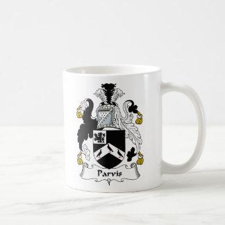 Parvis Family Crest Classic White Coffee Mug