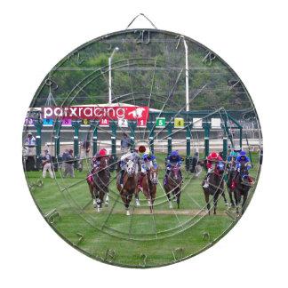 Parx Racing Dart Board