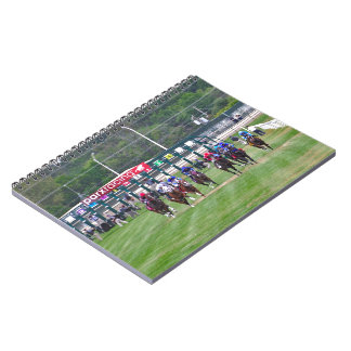 Parx Racing Spiral Notebook
