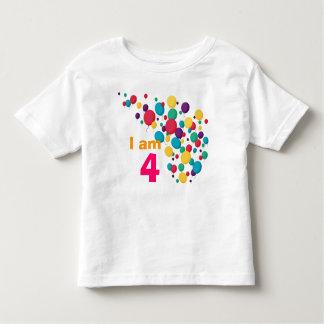 Pary balloons birthday tshirt