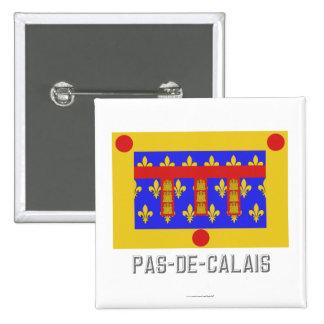 Pas-de-Calais flag with name Buttons