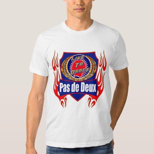 Pas de Deux Dance Wear T-shirts