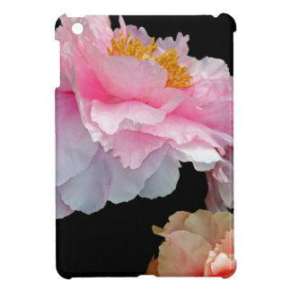 Pas de Deux Glowing Spring Peonies iPad Mini Cover