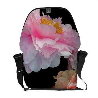 Pas de Deux Glowing Spring Peonies Courier Bag