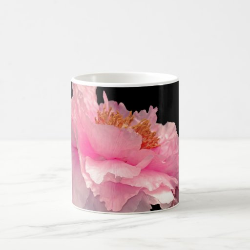 Pas de Deux Gorgeous Peony Floral Fantasy Mug
