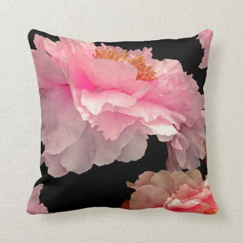 Pas de Deux Peonies American MoJo Pillows
