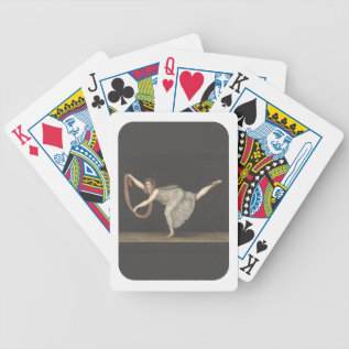 Pas-de-shawl Dance Annette Kobler Amsterdam 1812 Bicycle Playing Cards at Zazzle
