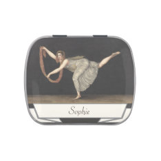 Pas-de-Shawl Dance Annette Kobler Amsterdam 1812 Jelly Belly Candy Tin at Zazzle