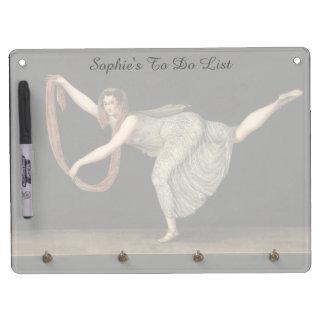 Pas-de-Shawl Dance Annette Kobler Amsterdam 1812 Dry-Erase Board