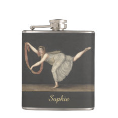 Pas-de-shawl Dance Annette Kobler Amsterdam 1812 Flask at Zazzle