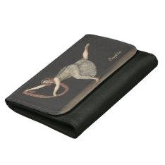 Pas-de-Shawl Dance Annette Kobler Amsterdam 1812 Leather Wallet For Women at Zazzle