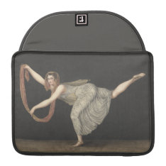 Pas-de-shawl Dance Annette Kobler Amsterdam 1812 Macbook Pro Sleeve at Zazzle