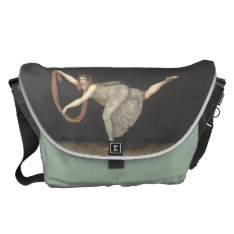 Pas-de-shawl Dance Annette Kobler Amsterdam 1812 Messenger Bag at Zazzle