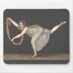 Pas-de-shawl Dance Annette Kobler Amsterdam 1812 Mouse Pad at Zazzle