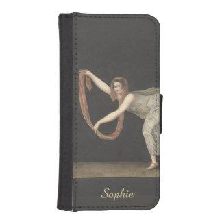 Pas-de-Shawl Dance Annette Kobler Amsterdam 1812 Phone Wallet Cases