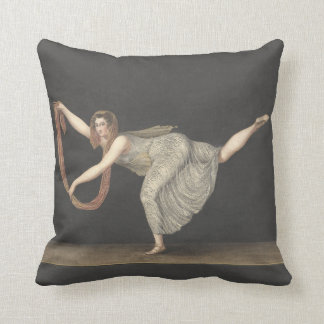 Pas-de-Shawl Dance Annette Kobler Amsterdam 1812 Pillow