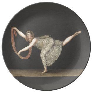 Pas-de-shawl Dance Annette Kobler Amsterdam 1812 Plate at Zazzle