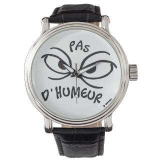 pas d'humeur wristwatches