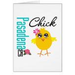 Pasadena CA Chick 1 Card