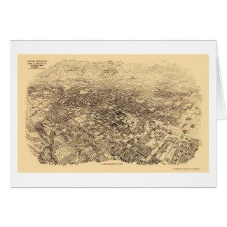 Pasadena, CA Panoramic Map - 1903 Card