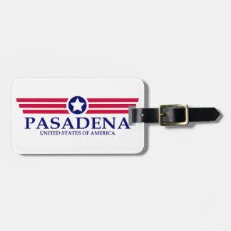 Pasadena CA Pride Tag For Luggage