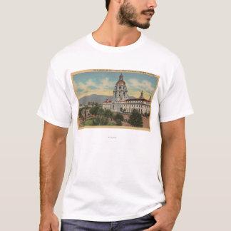 Pasadena, CA - View of City Hall & Public Librar T-Shirt