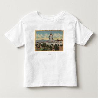 Pasadena, CA - View of City Hall & Public Librar Toddler T-shirt
