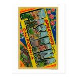 Pasadena, California - Large Letter Scenes Postcard