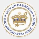 Pasadena City Seal Stickers