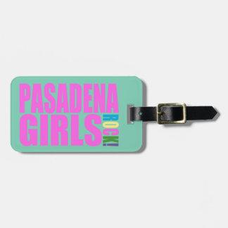 PASADENA GIRLS ROCK TAG FOR LUGGAGE