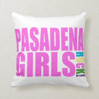 PASADENA GIRLS ROCK THROW PILLOW