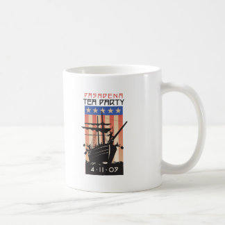 Pasadena Tea Party Classic White Coffee Mug