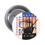 Pasadena Tea Party Pinback Button